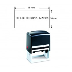 Sello automatico 75x38 mm