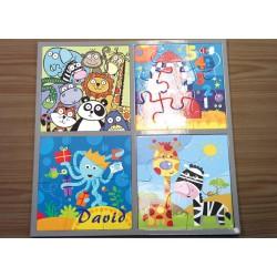 Puzzle infantil 4 en 1
